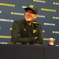 Jim Harbaugh Michigan Football Postgame Podcast– Michigan 33 Minnesota 10