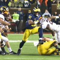 MICHIGAN FOOTBALL 2017:  WOLVERINES RUN OVER GOPHERS 33-10