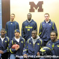 M Football 2010- The Recruiting Spinning Wheel-2010 Signing Day