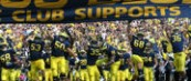 M Football 2011-Broncos Busted In Storm Shortened Opener- M 34-Western Michigan 10