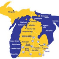 The State Of Michigan Trophy: 2011-2012 Update Michigan vs Michigan State
