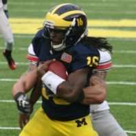 "Michigan Wolverines 40 Ohio 34 Game Photos ""THE GAME"""