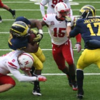 Michigan Wolverines 45 Nebraska Cornhuskers 17 Game Photos