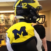 2012 Michigan Wolverine Football Uniform Details