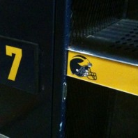 The Ultimate Gift a Wolverine Fan- Authentic Michigan Football Lockers