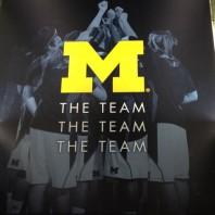 Michigan Wolverine Coach John Beilein's Table