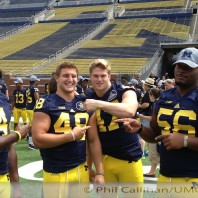2013 Michigan Wolverines Football Media Day Photos