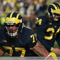 Taylor Lewan on Under the Lights 2 Michigan vs Notre Dame