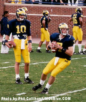 How most people remember Tony Brady's time at Michigan.