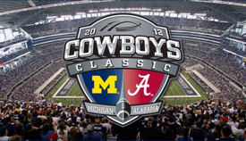 M Football 2012: THINGS THAT GO BUMP IN THE NIGHT- MICHIGAN  14, ALABAMA 41,