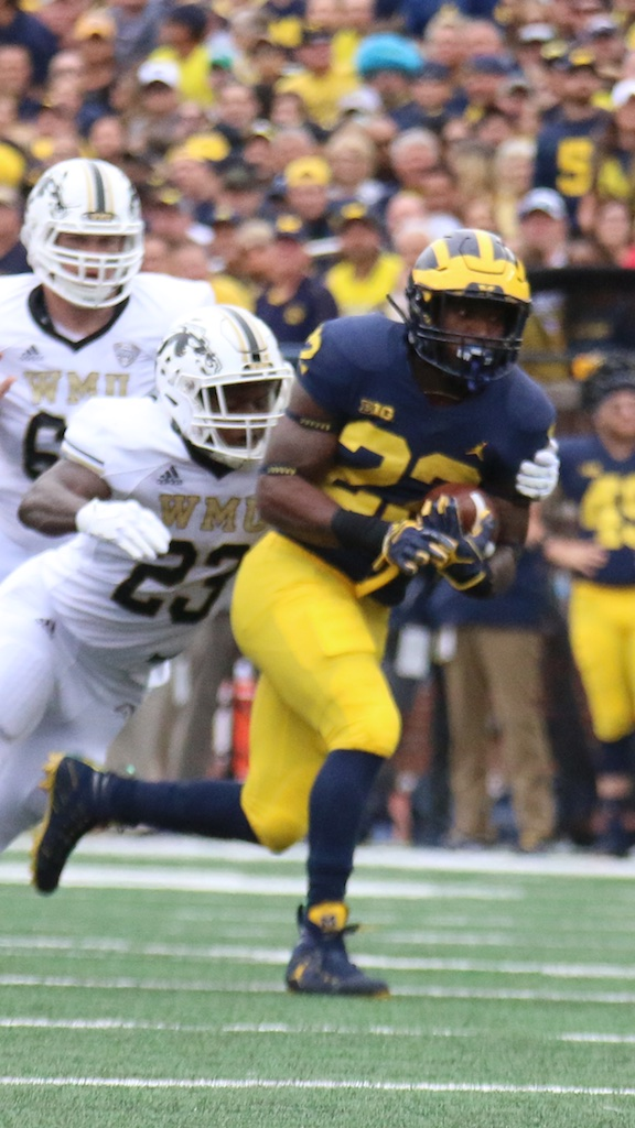 2018 Michigan Football Game Commentary– Michigan Flies by Western Michigan 49-3