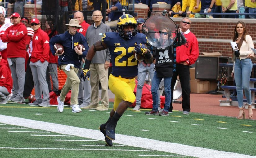 "2018 Michigan Football Postgame Podcast– Karan Higdon ""You never let up on an opponent."""