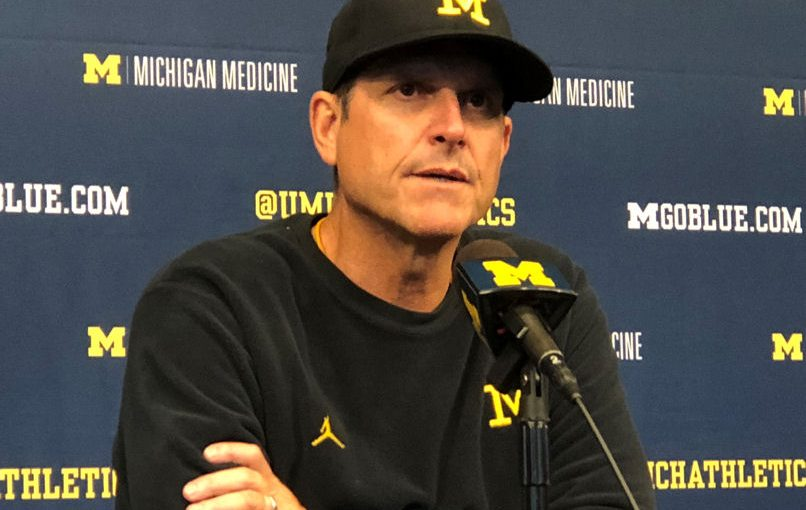 2018 Michigan Football Postgame Podcast– Jim Harbaugh Michigan 56 Nebraska 10