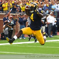 M  FOOTBALL 2015- IMPROVING WOLVERINES SMACK BYU'S COUGARS  31 TO ZIP.