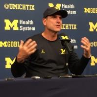 Michigan Football Coach Jim Harbaugh Press Conference 9/26/16
