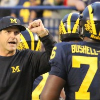 Michigan Football– Michigan 14 Wisconsin 7 Jim Harbaugh Post Game Press Conference