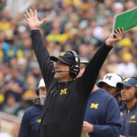 M FOOTBALL 2016: THE WOLVERINES ROLLED OVER SPARTANS IN EAST LANSING, 32-23.