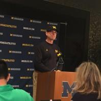 Michigan Football– Jim Harbaugh Rutgers Week Press Conference