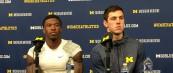 Michigan Football Postgame Podcast– Brandon Peters and Karan Higdon Michigan 35 Rutgers 14