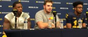 Michigan Football Postgame Podcast– Karan Higdon, Chris Evans, Mason Cole Michigan 33 Minnesota 10