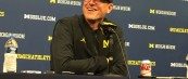 Jim Harbaugh Michigan Football Postgame Podcast– Michigan 33 Minnesota 10