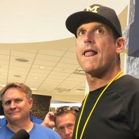 Podcast- Jim Harbaugh Speaks on the QB Battle, Bo, and Shoes