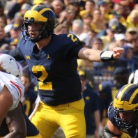 MICHIGAN FOOTBALL 2018-Wolverines Corral SMU MUSTANGS 45-20
