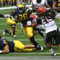 M Football 2011-Defensive Improvement-M 28, SDSU 7
