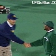 Lloyd Carr Handshake Controversy? Free Press Stirring Up Trouble