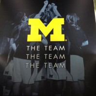 Michigan Wolverine Coach John Beilein's Table