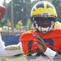 2013 Michigan Wolverines Football Fall Practice Photos