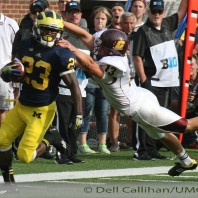 CONQUEST OF CENTRAL MICHIGAN PROVIDES A SUCCESSFUL HOME START TO THE 134TH EDITION OF MICHIGAN FOOTBALL:  M-59; CMU- 9