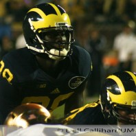 M Football 2013-WOLVERINES OVER IRISH AT HOME IN PRIME TIME:M-41, ND-30